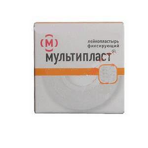 Мультипласт лейкопластырь бактерицидный 1,9х7,2см 1 шт.