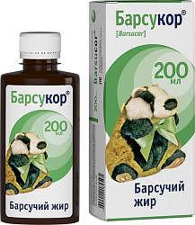 Барсукор барсучий жир 200мл
