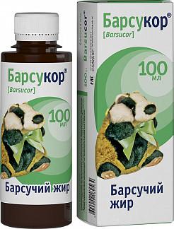 Барсукор барсучий жир 100мл