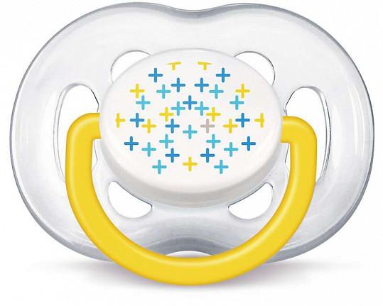 Авент пустышка силиконовая для мальчиков фри флоу 6-18 месяцев (scf180/27) 2 шт., фото №3