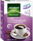 Леовит биослимика кофе для похудения жиросжигающий комплекс 3г 10 шт.