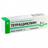 Тетрациклин 1% 3г мазь глазная татхимфарм