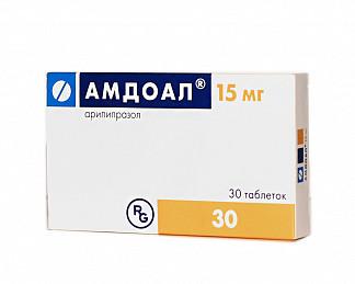 Амдоал 15мг 30 шт. таблетки