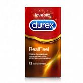 Дюрекс презервативы реал фил 12 шт.