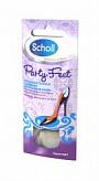 Шолл подушечки гелевые невидимые против натертостей и мозолей для задников обуви 2 шт.