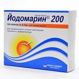 Йодомарин 200 200мкг 100 шт. таблетки