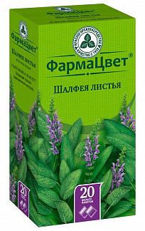 Шалфей листья 1,5г 20 шт. фильтр-пакет