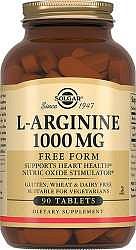 Солгар л-аргинин таблетки 1000мг 90 шт.