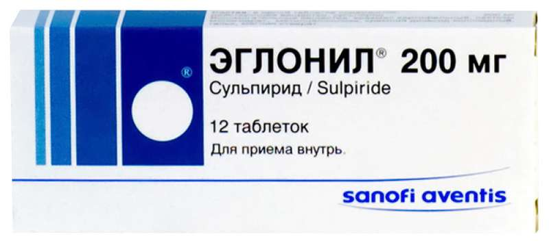 ЭГЛОНИЛ таблетки 200 мг 12 шт.