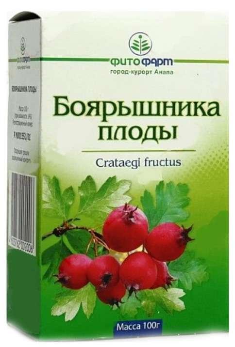 Боярышник плоды 100г, фото №1