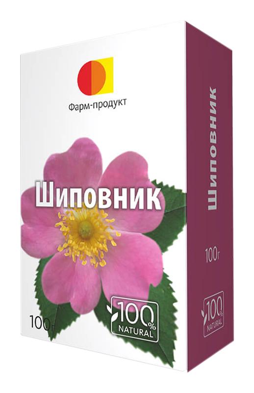 Шиповник плоды 100г упаковка фармпродукт, фото №1