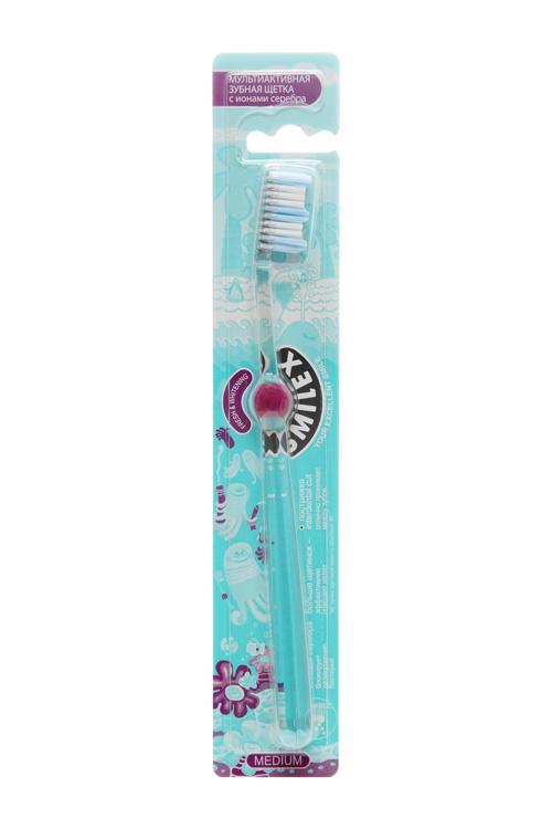 Сплат смайлекс зубная щетка с ионами серебра, фото №1