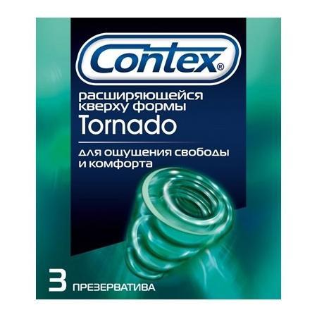 Контекс презервативы торнадо 3 шт., фото №1