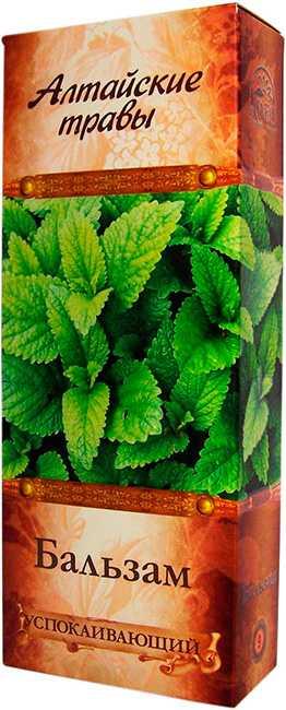 Алтайские травы бальзам n9 успокаивающий 250мл алсу, фото №1