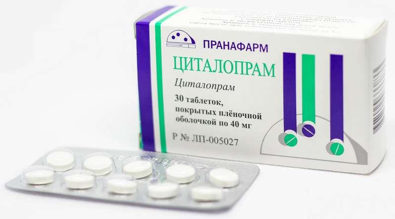 ЦИТАЛОПРАМ таблетки 40 мг 30 шт.
