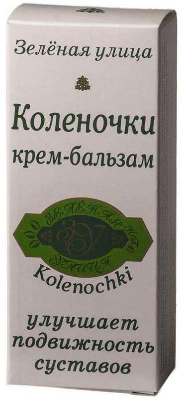 Зеленая улица крем-бальзам коленочки 50г, фото №1