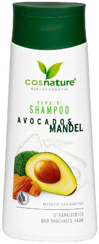 Коснэйче шампунь для волос восстанавливающий авокадо/миндаль 200мл, фото №1