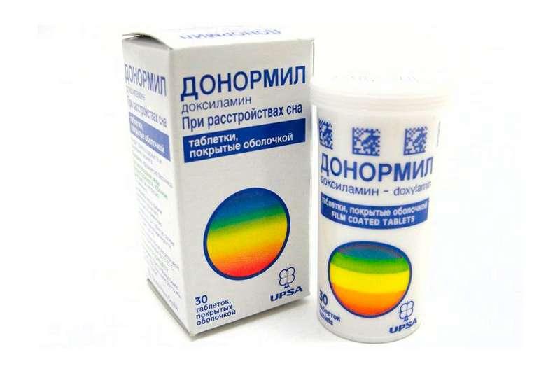 ДОНОРМИЛ таблетки 15 мг 30 шт.