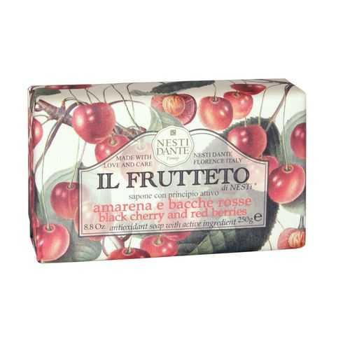 Нести данте мыло твердое черешня/красные ягоды 250г, фото №1