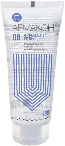 Армакон армасепт гель средство дезинфицирующее (кожный антисептик) 100мл, фото №1