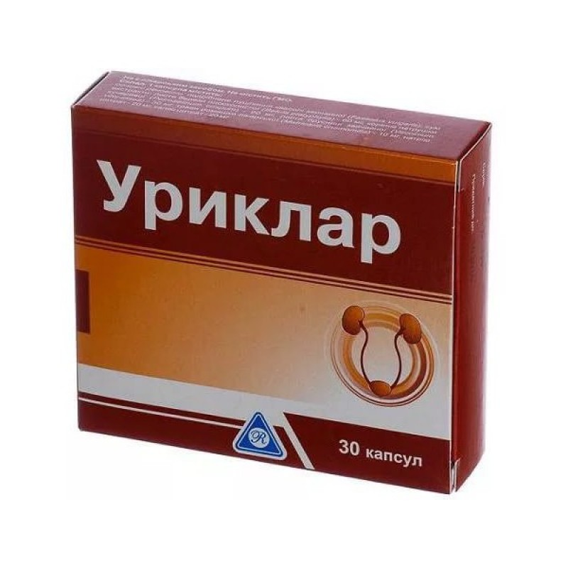УРИКЛАР капсулы 30 шт.  BG
