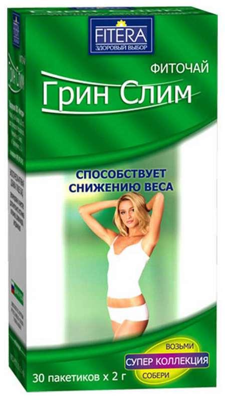 ГРИН СЛИМ ТИ фиточай 30 шт. фильтр-пакет