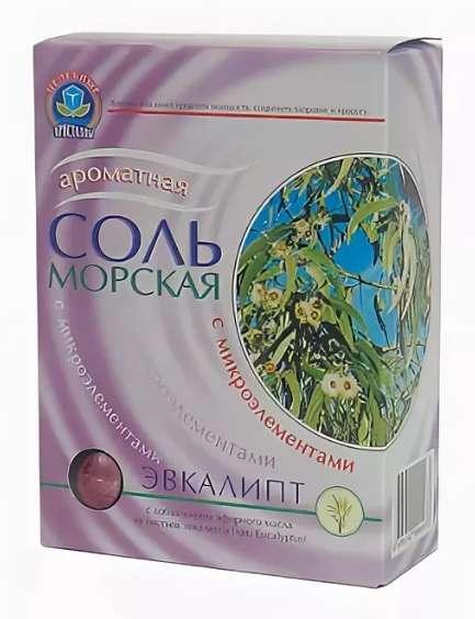 Соль морская эвкалипт 500г, фото №1