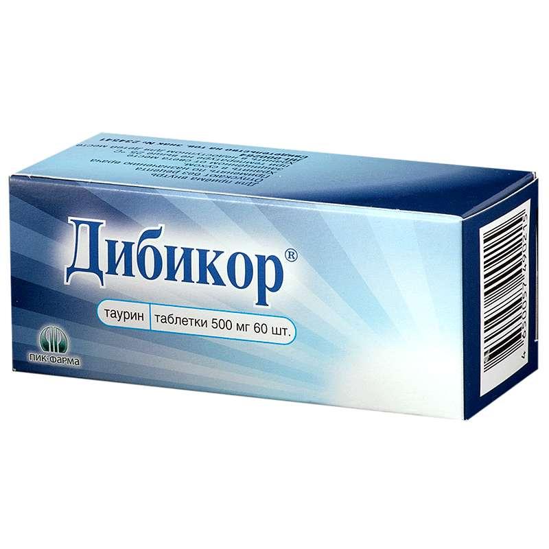 ДИБИКОР таблетки 500 мг 60 шт.