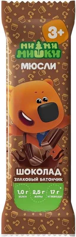 Ми-ми-мишки батончик злаковый шоколад 24г, фото №1