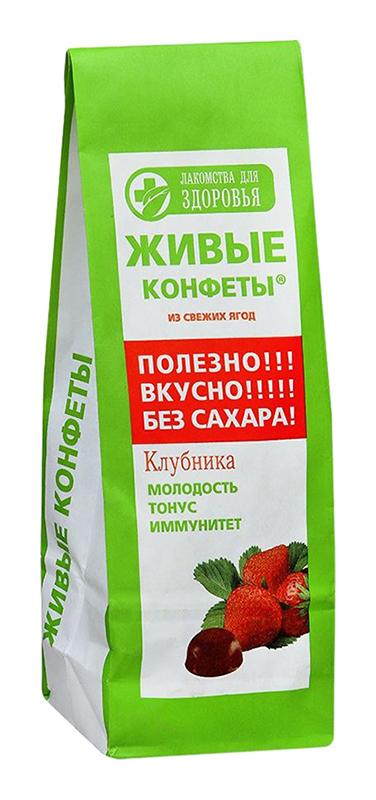 Лакомства для здоровья мармелад клубника 170г, фото №1