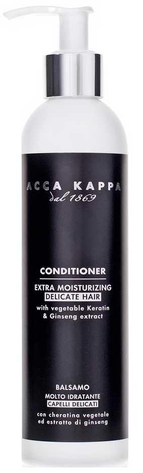 Acca kappa кондиционер для тонких волос увлажняющий белый мускус 250мл, фото №1