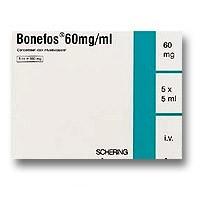 Бонефос 60мг/мл 5мл 5 шт. концентрат для приготовления раствора для инфузий, фото №1