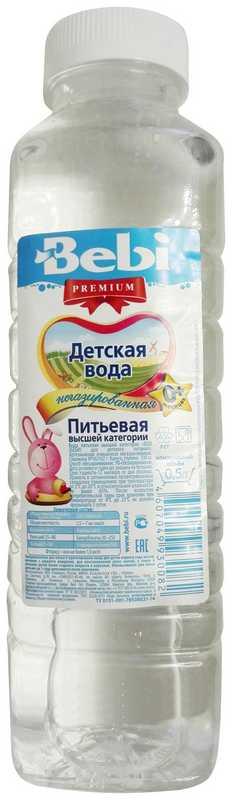 Бэби вода для детей негазированная с рождения 0,5л, фото №1
