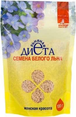 Лен семена биокор женская красота 100г, фото №1