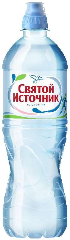 Святой источник вода питьевая без газа пэт 0,75л, фото №1