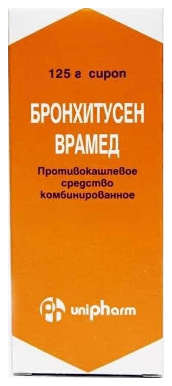 Бронхитусен-врамед 125мл сироп, фото №1