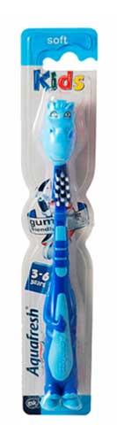 Аквафреш флексо френдс зубная щетка детская детская 3-6 л, фото №1