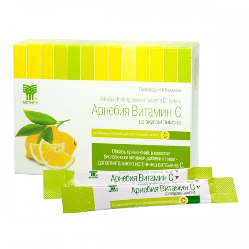 Арнебия витамин c порошок 5г лимон 20 шт., фото №1