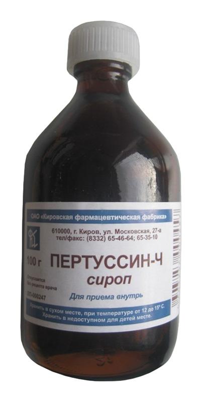 ПЕРТУССИН-Ч 100мл сироп