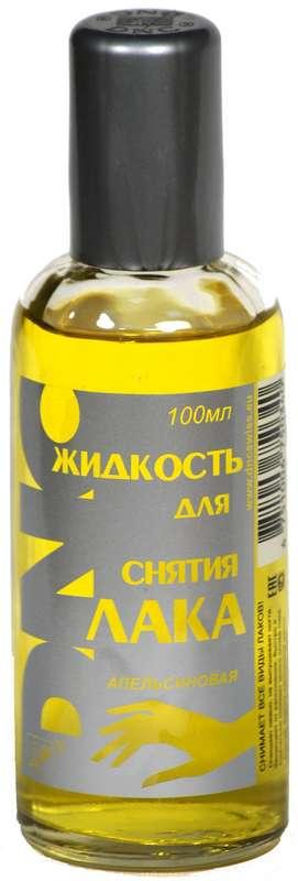 Днц жидкость для снятия лака апельсиновая 100мл, фото №1