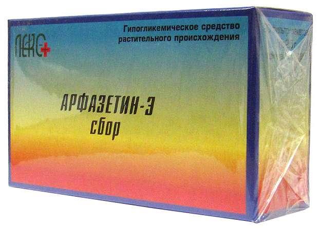 АРФАЗЕТИН-Э СБОР 2,5г 20 шт. фильтр-пакет