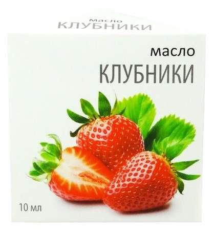 Масло эфирное клубника 10мл, фото №1