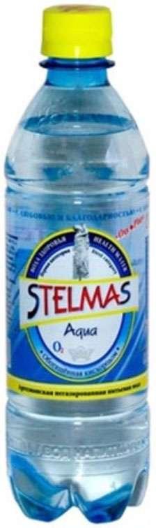 Стэлмас вода питьевая негазированная 0,5л бутылка пэт., фото №1