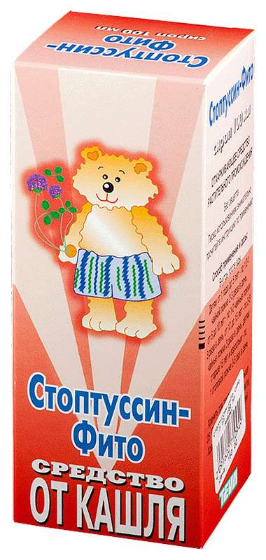 Стоптуссин-фито 100мл сироп, фото №1
