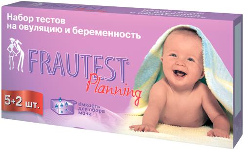 Фраутест планнинг тест на овуляцию n5+2 теста для определения беременности, фото №1