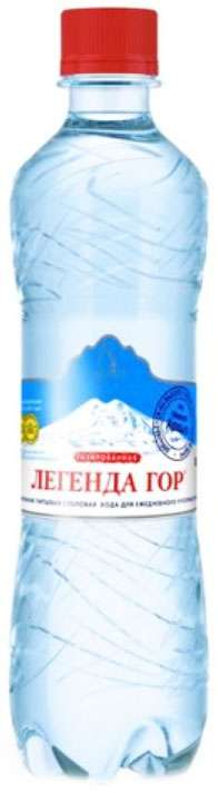 Легенда гор вода минеральная для детей и взрослых 0,5л, фото №1