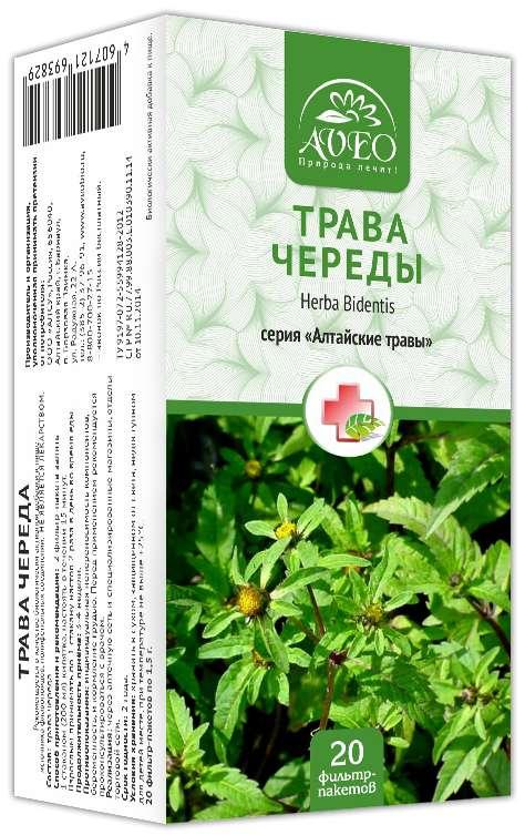 Авео алтайские травы череда 1,5г 20 шт. фильтр-пакет, фото №1