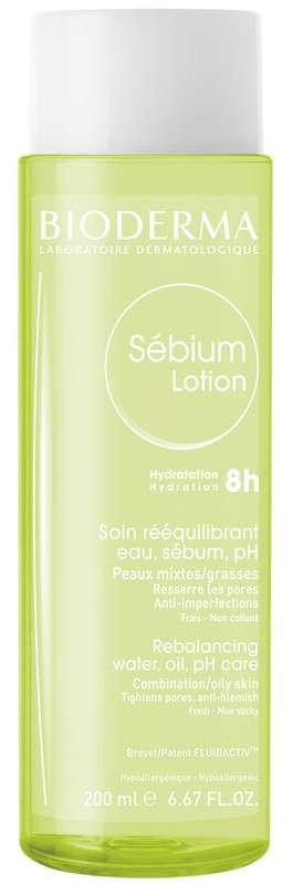 Биодерма себиум лосьон 200мл, фото №1