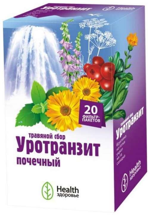 Уротранзит сбор травяной почечный 20 шт. фильтр-пакет здоровье, фото №1