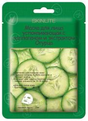 СКИНЛАЙТ маска для лица тканевая успокаивающая Коллаген/Огурец арт.SL-210 23мл 1 шт.